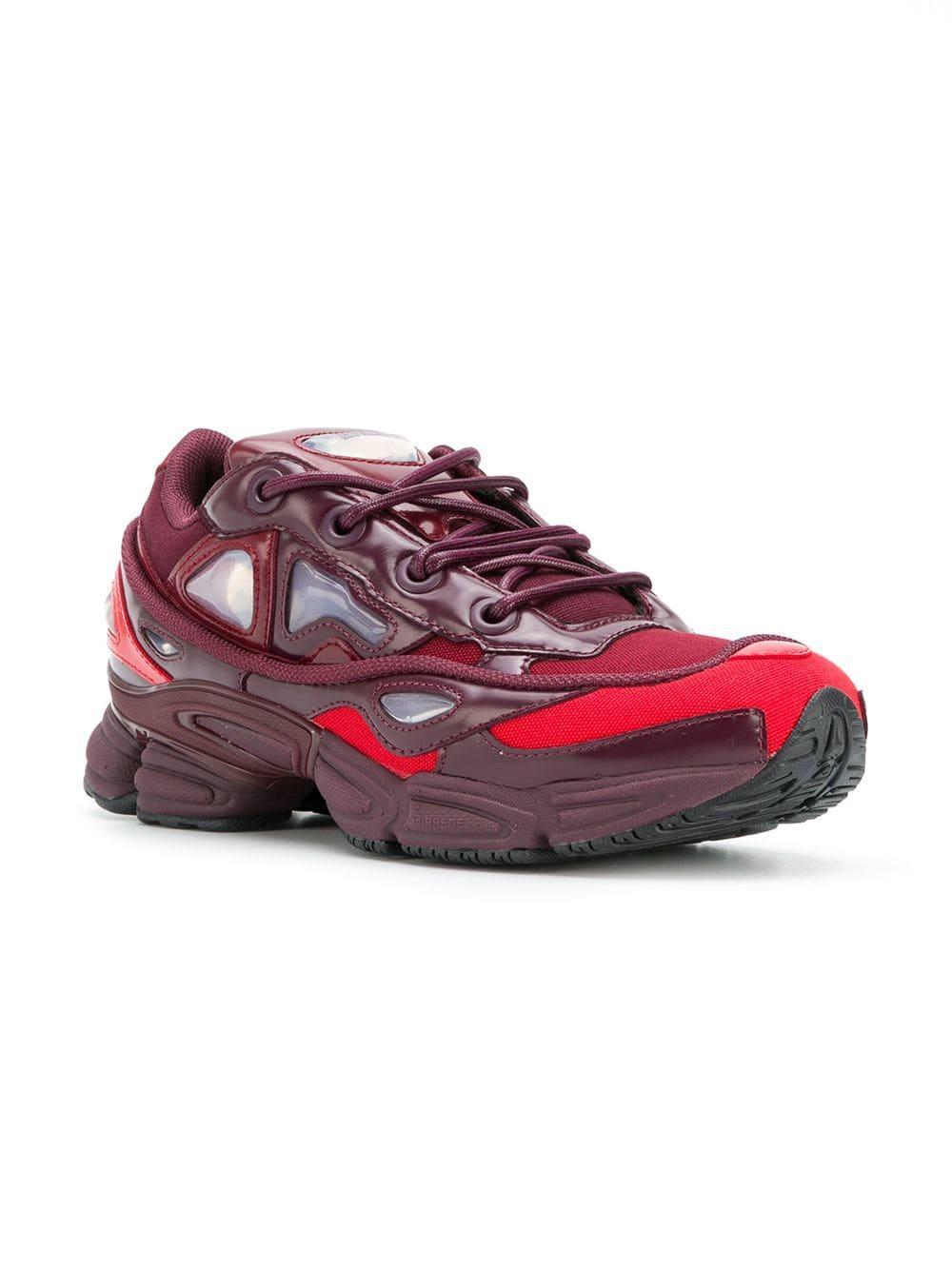 Zapatillas Ozweego III adidas By Raf Simons de Cuero de color Rojo