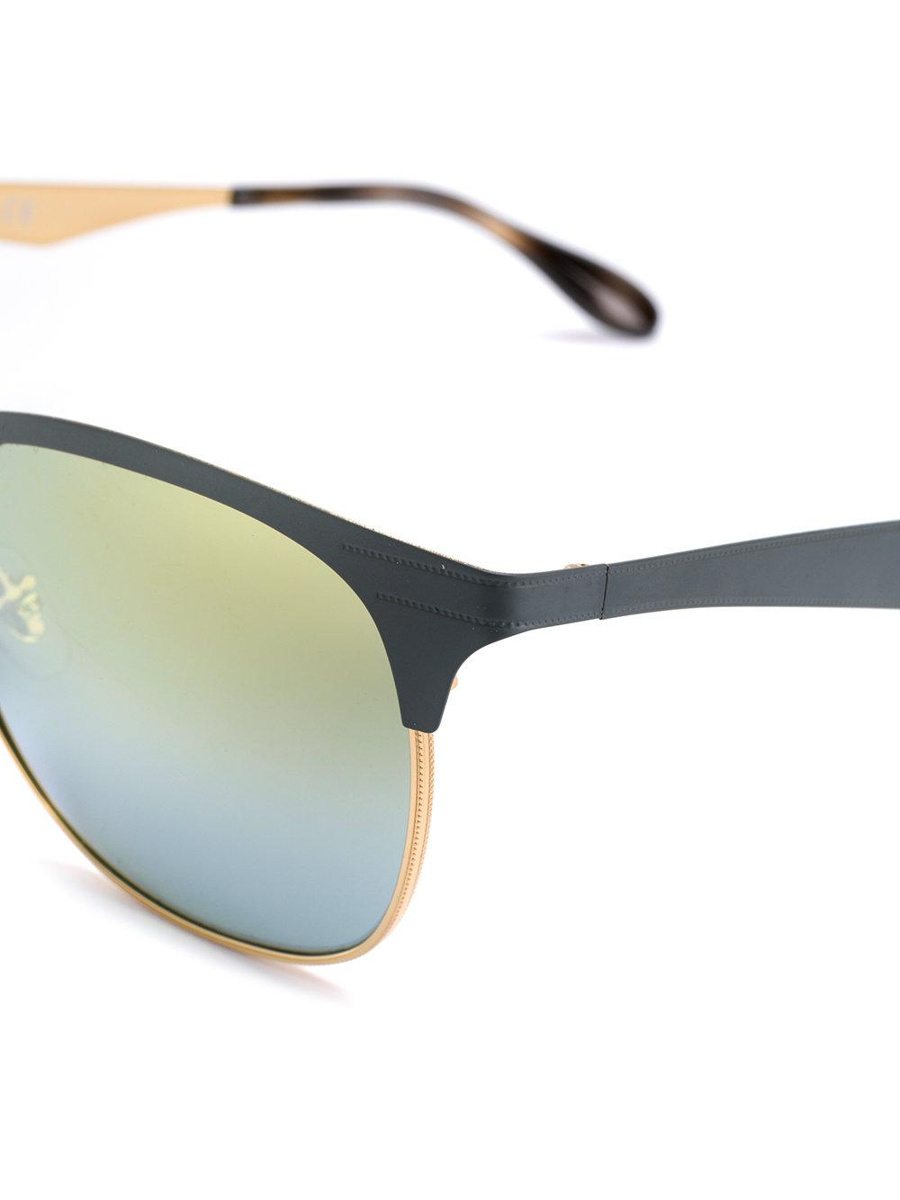 Ray-Ban Clubmaster Sunglasses in Grey (Grey)