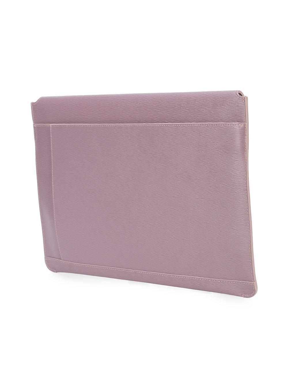 Embrayage Enveloppe - Rose Et Violet Senreve KrNZBtD