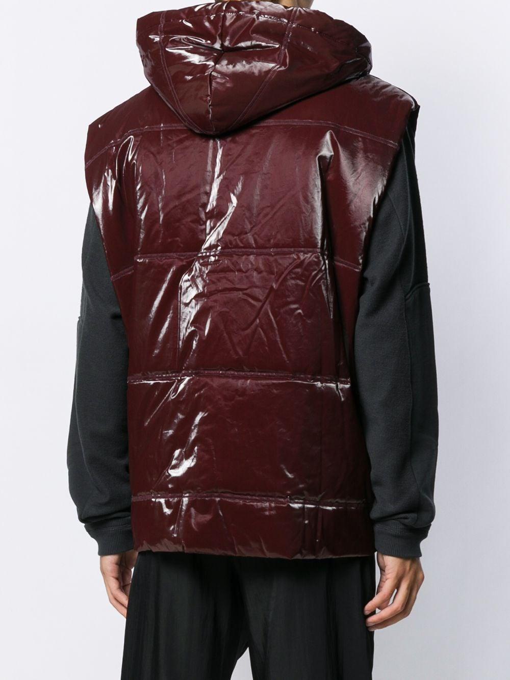 Qasimi Synthetisch Bodywarmer in het Rood voor heren