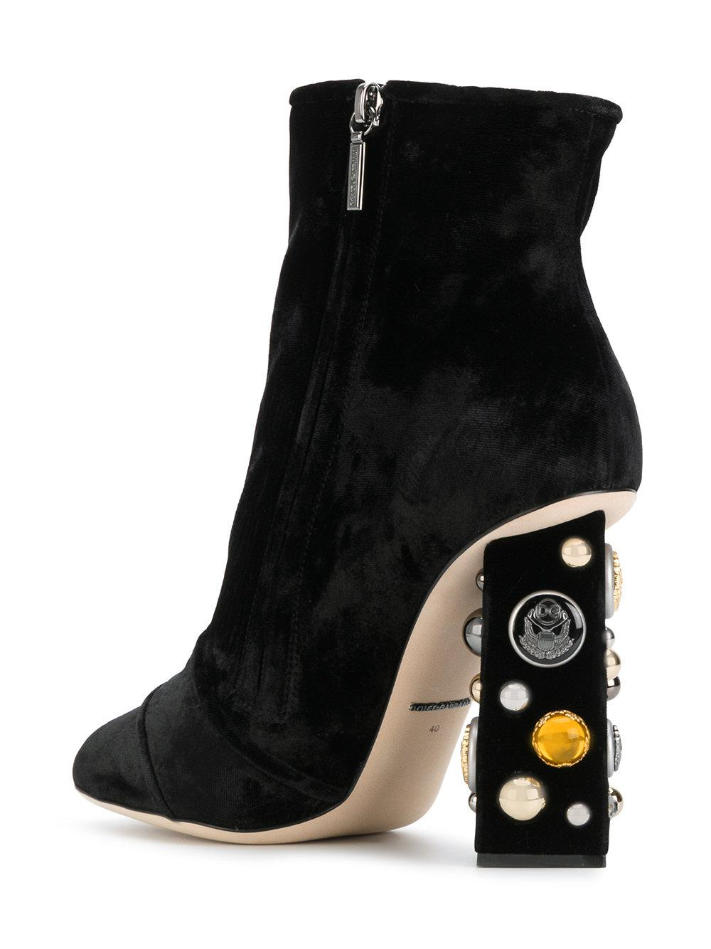 Dolce & Gabbana Jackie ankle boots Dk4OP7uH