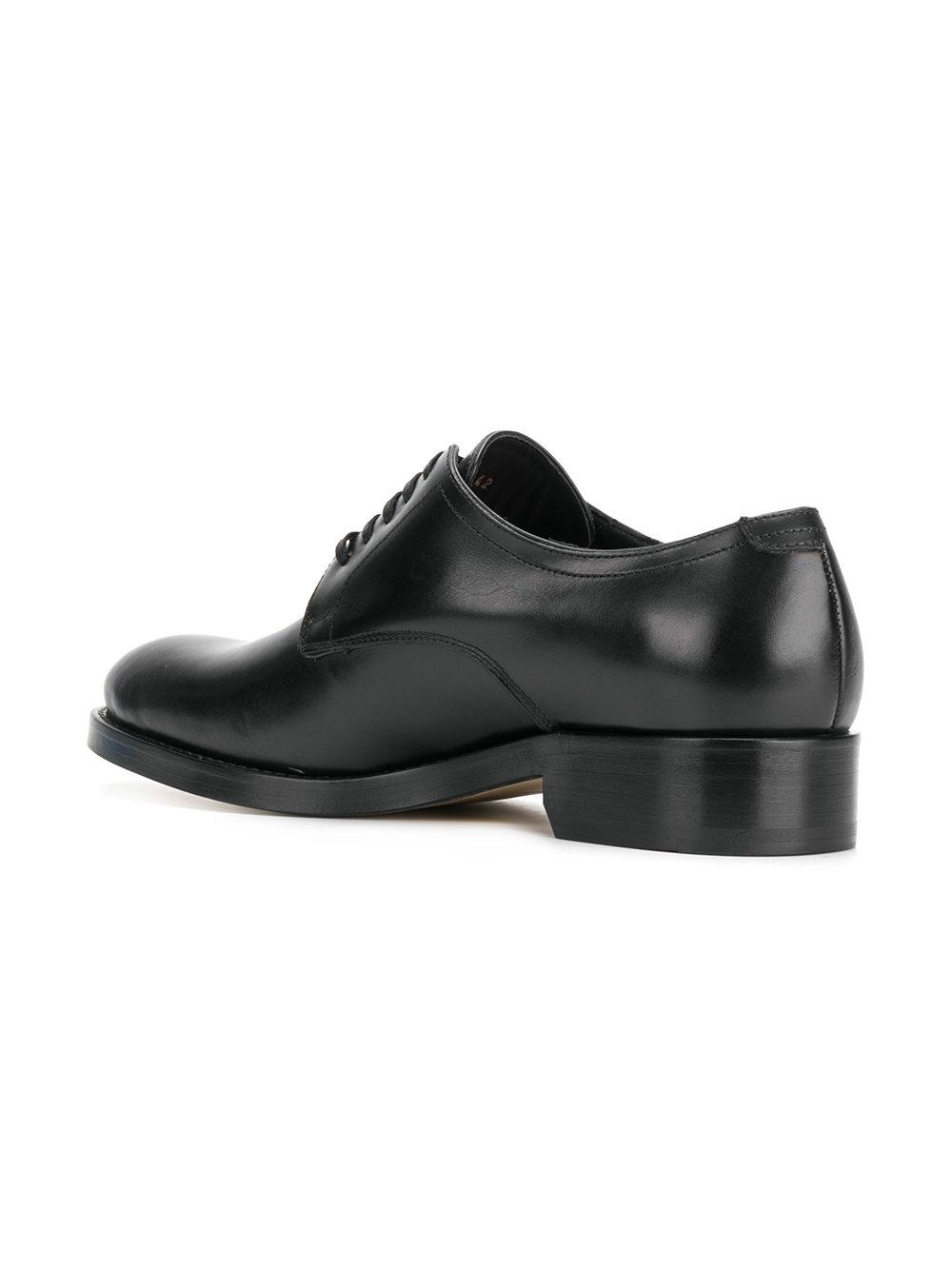 DSquared² Leather Classic Oxfords in Black for Men