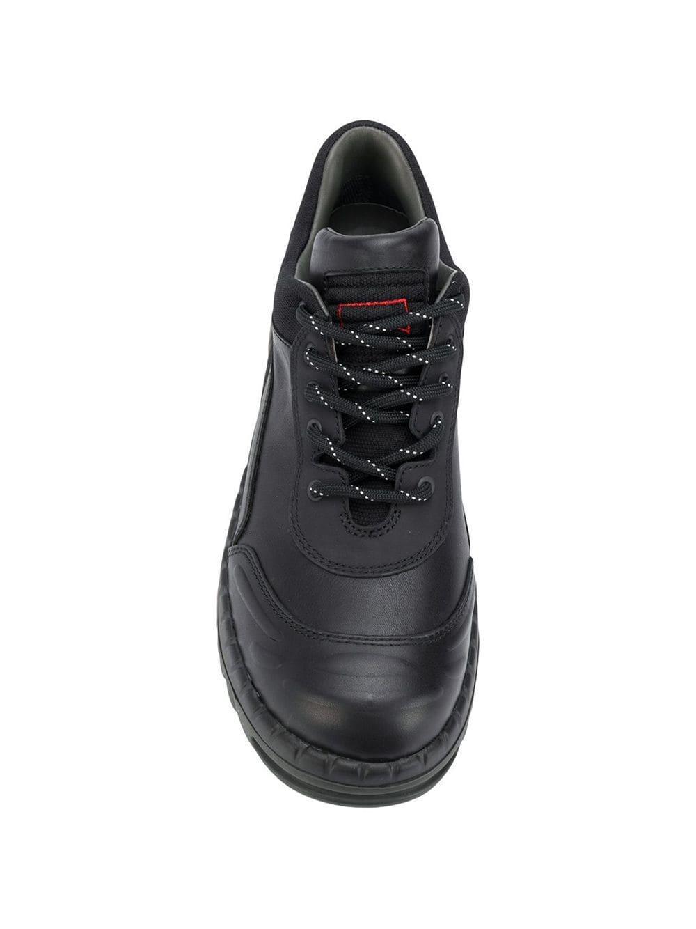 Zapatos con cordones Lab X Kiko Kostadinov Camper de Cuero de color Negro para hombre