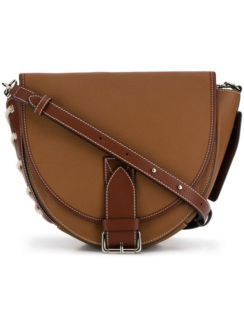 J.W. Anderson Round Shoulder Bag in Brown - Lyst 65502a7c80159