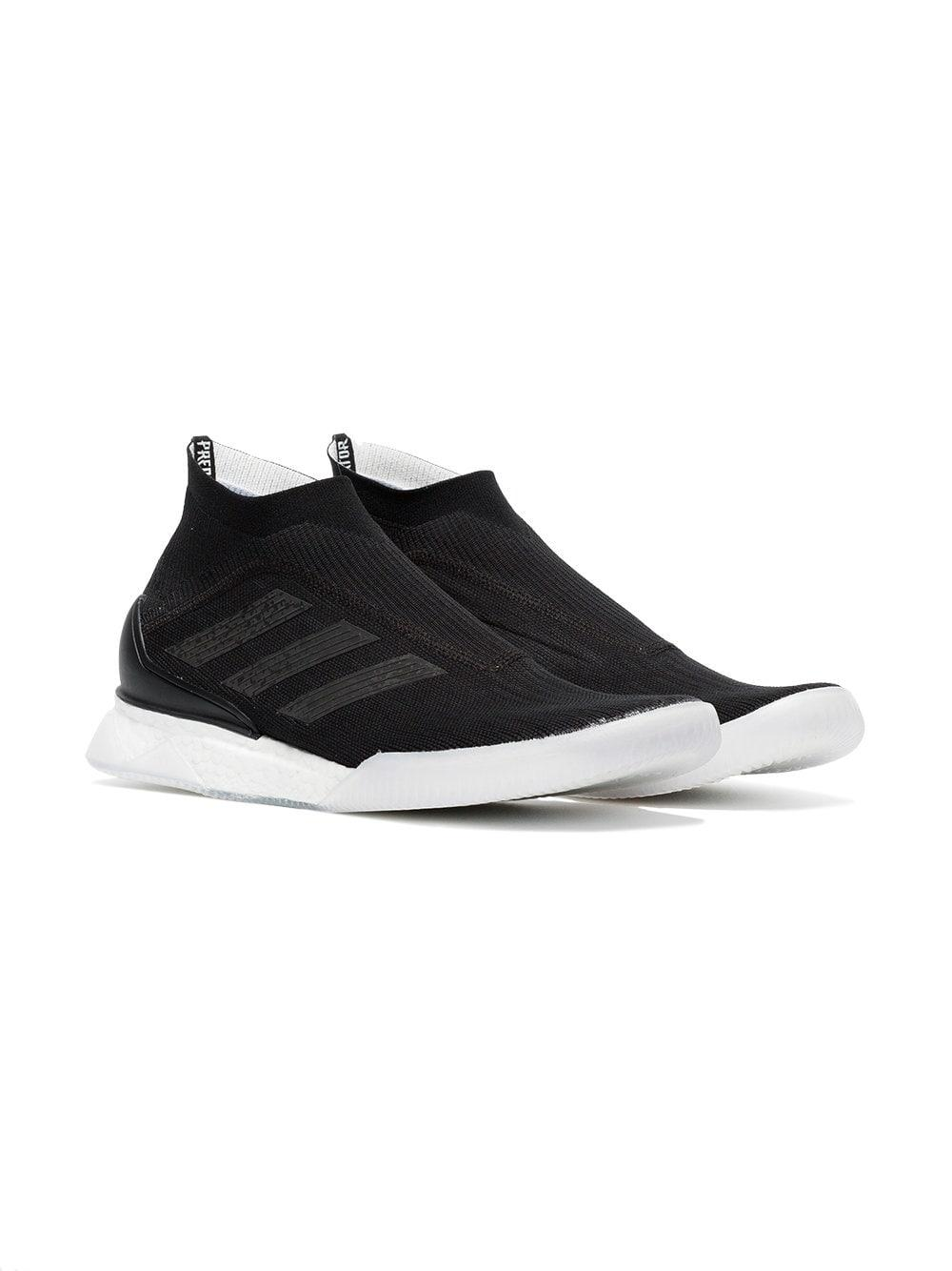 adidas Synthetic Black Tango Sneakers for Men