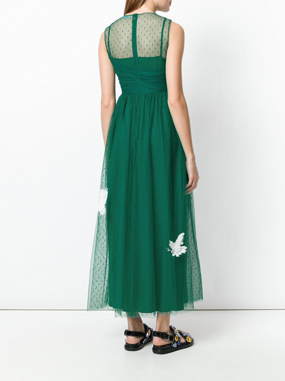 RED Valentino Tulle 2018 Embellished Cocktail Dress in ...