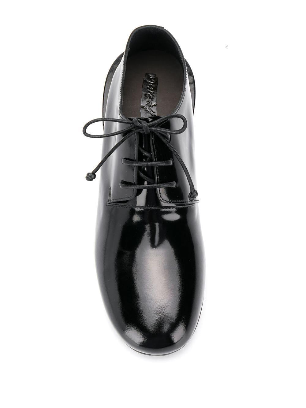 Zapatos con cordones Marsèll de Cuero de color Negro