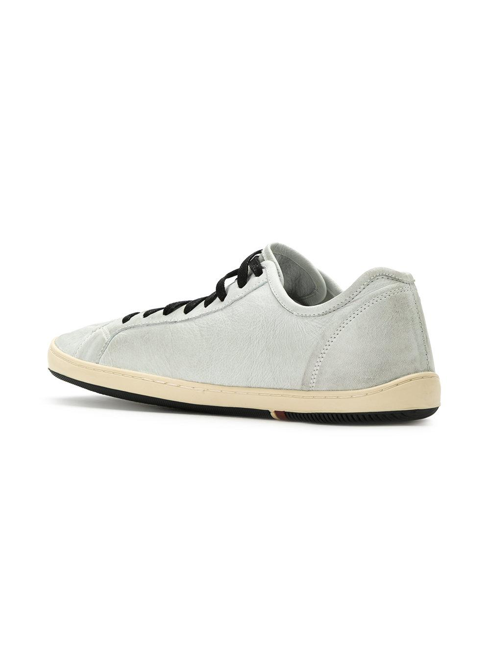 Volley Shoes White Leather
