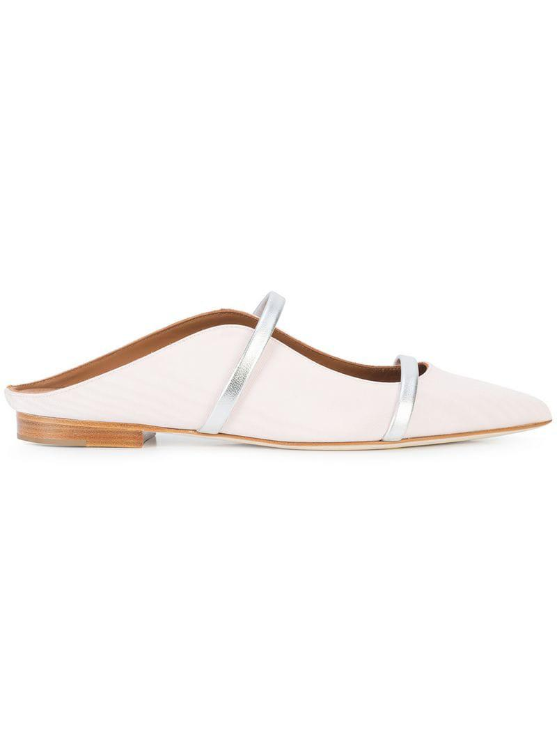 c7f2dcc0fb1 Lyst - Malone Souliers Maureen Mules in Pink