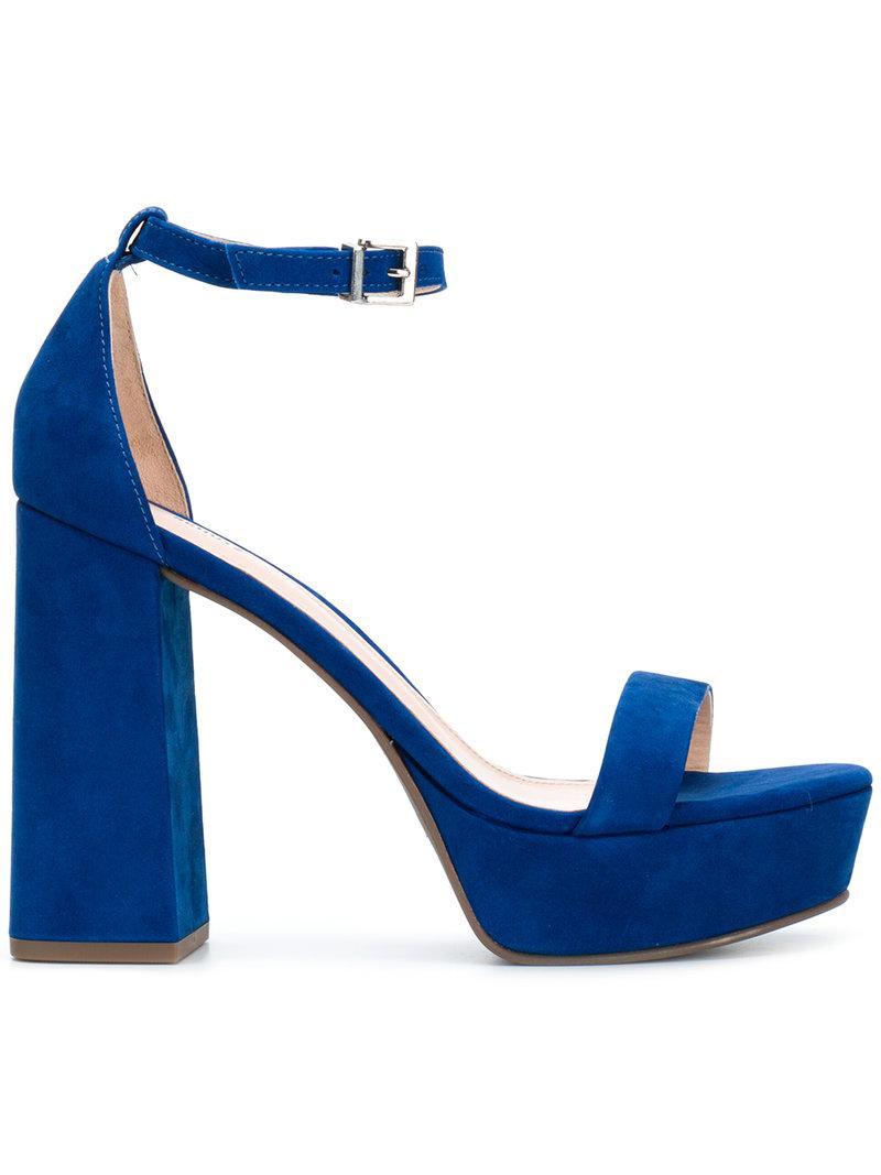 Sandales Plate-forme Schutz - Bleu 7l21fm8