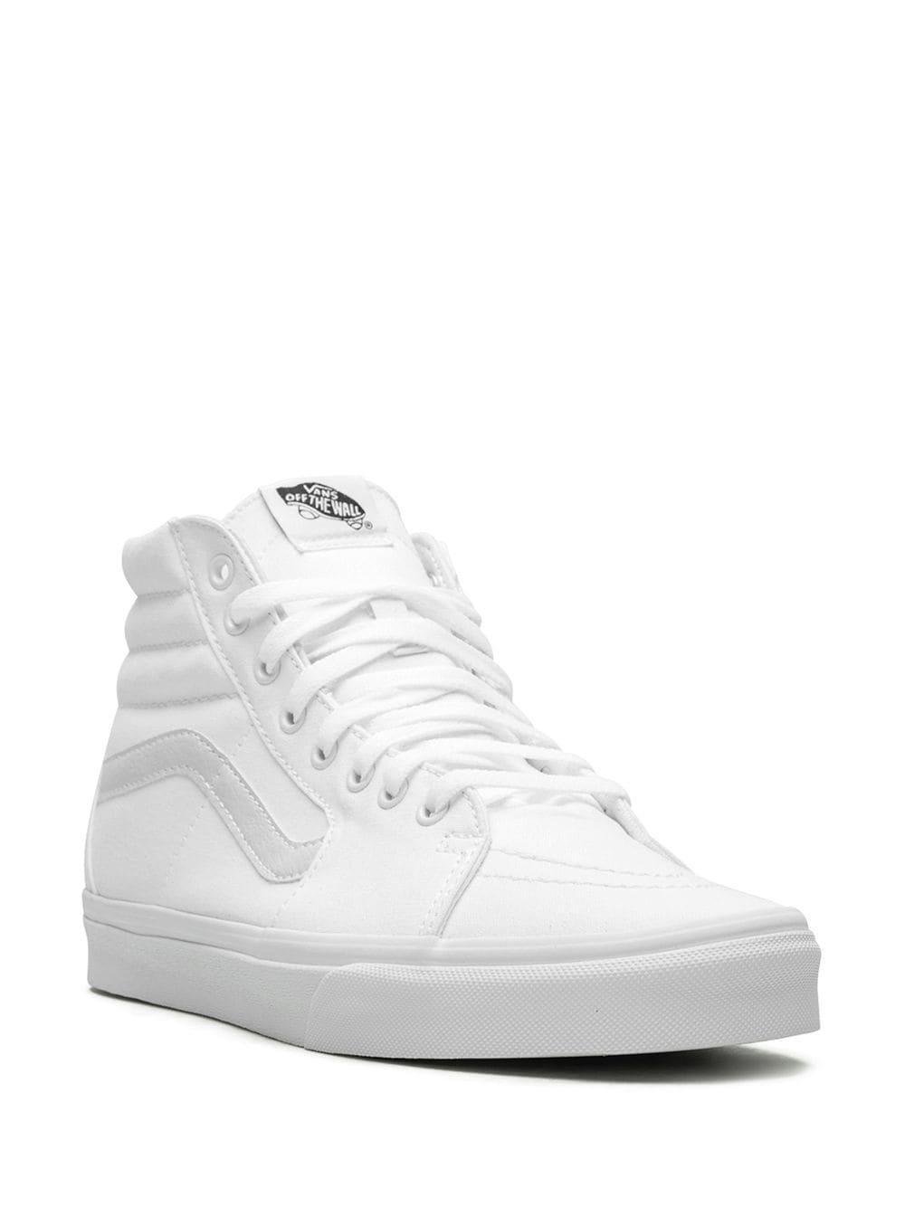 Zapatillas SK8-HI Vans de Lona de color Blanco para hombre