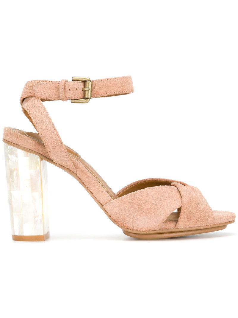 Isida Heel See Chloé Multicolor Sandals High By 80ywNPOvnm