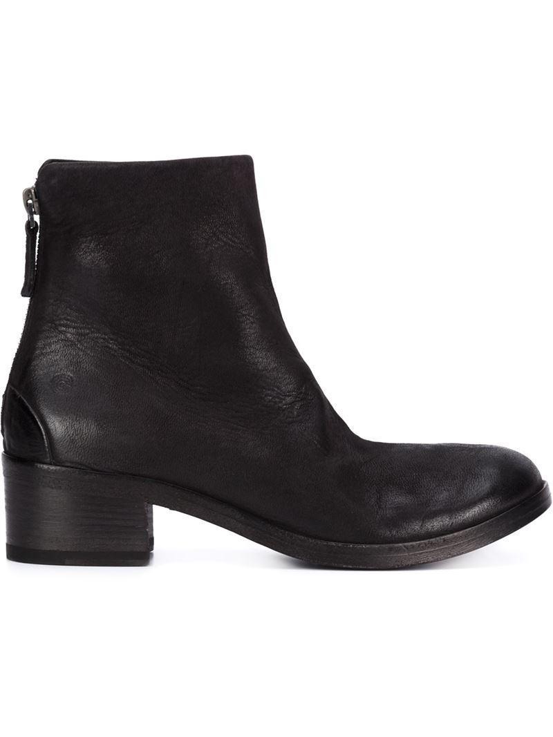 zipped midi boots - Brown Mars Discount Find Great NMLZMLf