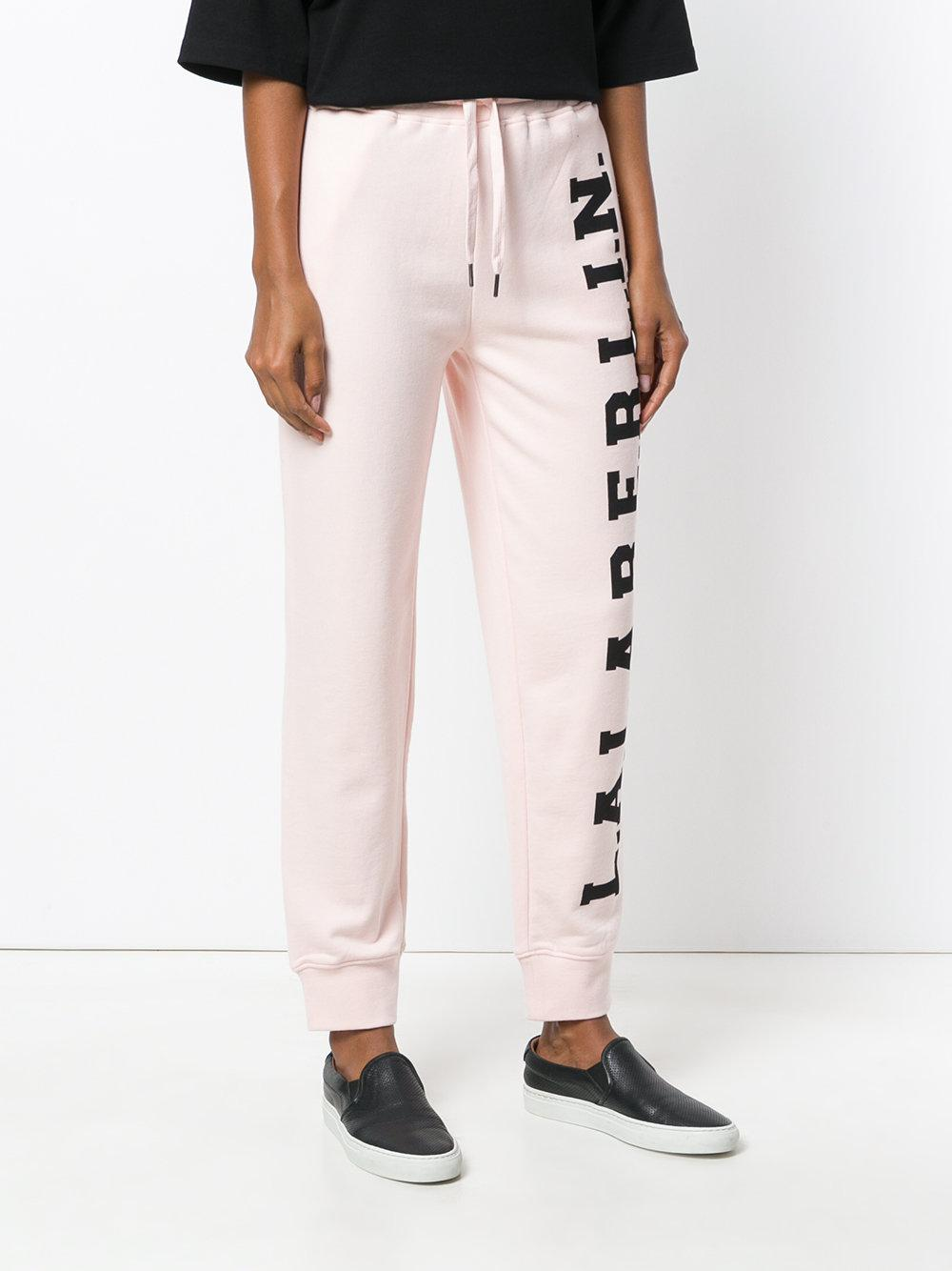 Outlet Wide Range Of Clearance View Fiorucci logo print track trousers Cheap Reliable Cheap Sale Pay With Visa f7jYQ