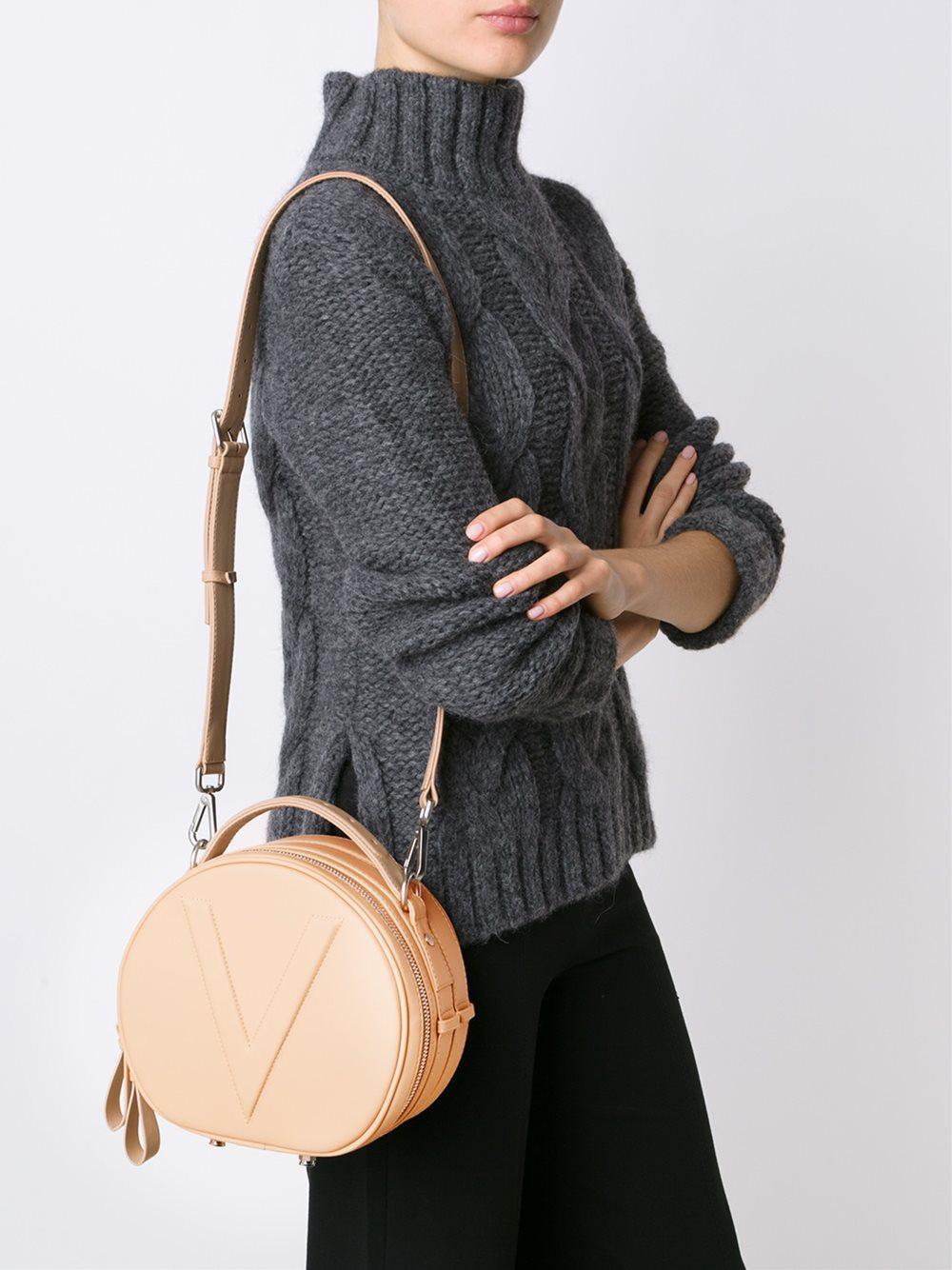 Valas Jean Leather Cross-Body Bag