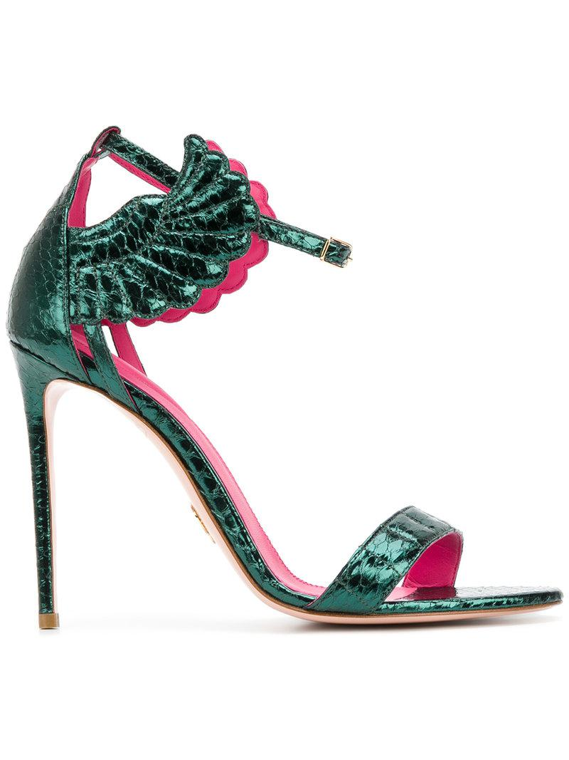 open toe sandals - Green Oscar Tiye 9gS0C4