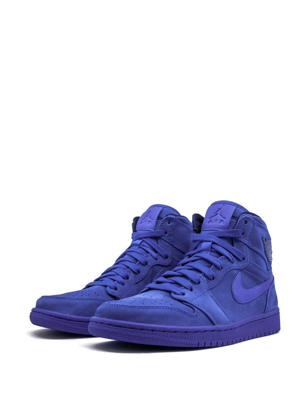 Zapatillas Air 1 Nike de Cuero de color Azul