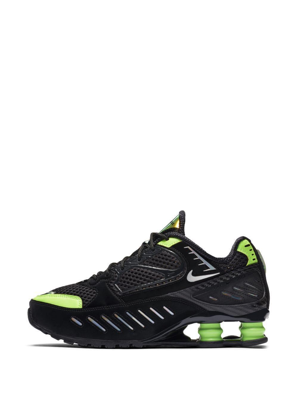 Zapatillas bajas Shox Enigma Nike de Tejido sintético de color Negro