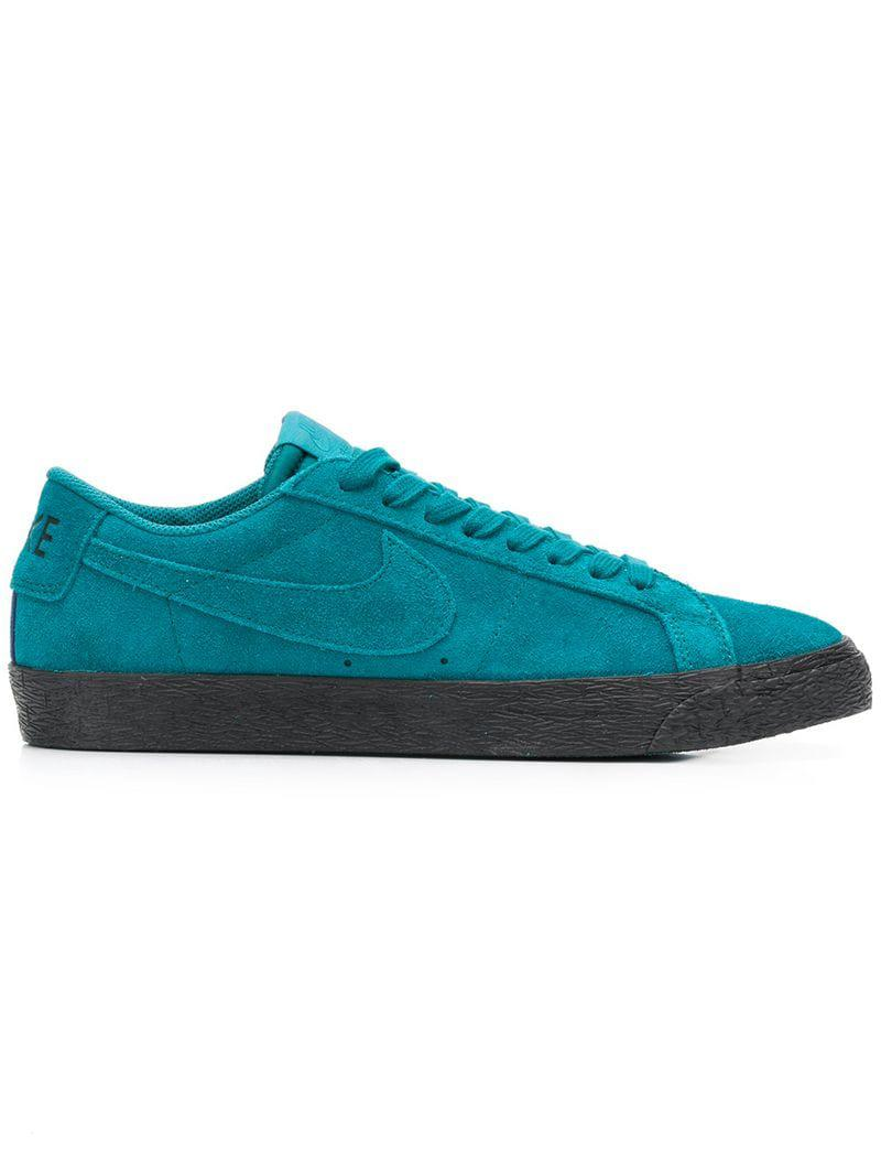 huge discount c4cfb 960cd ... czech nike. mens blue sb zoom blazer low trainers 8bce4 2f53c