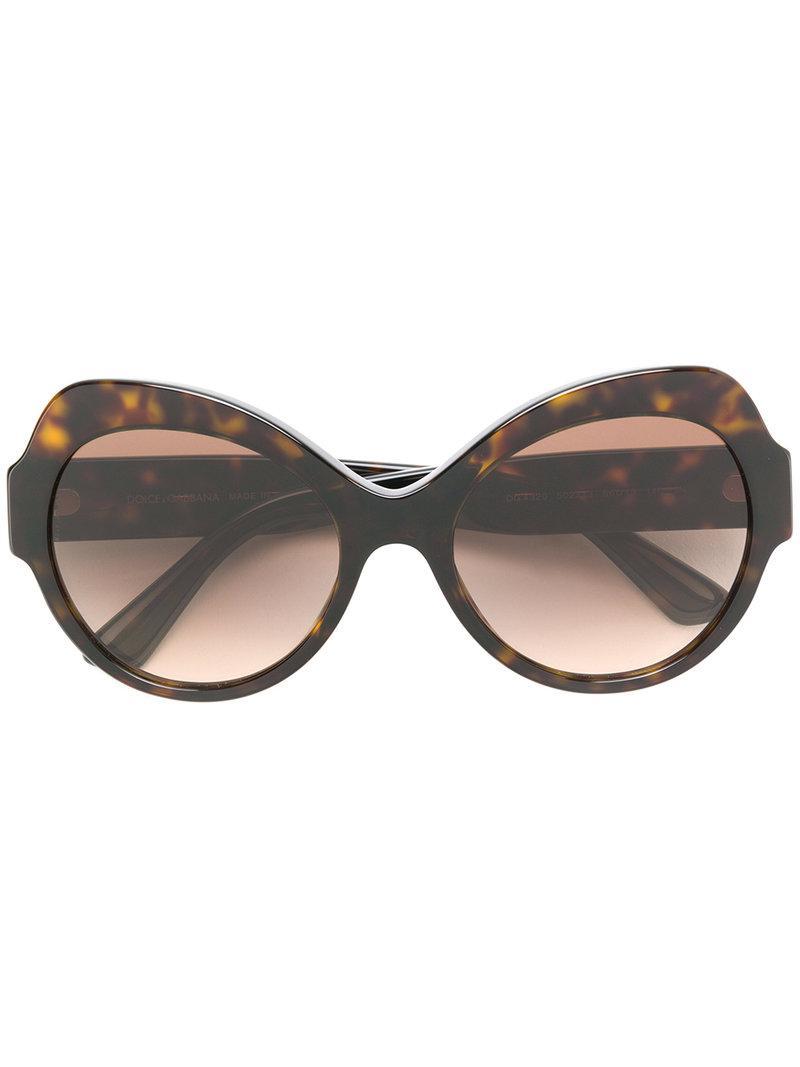 Dolce & Gabbana Lunettes de soleil à monture oversize zOP7W