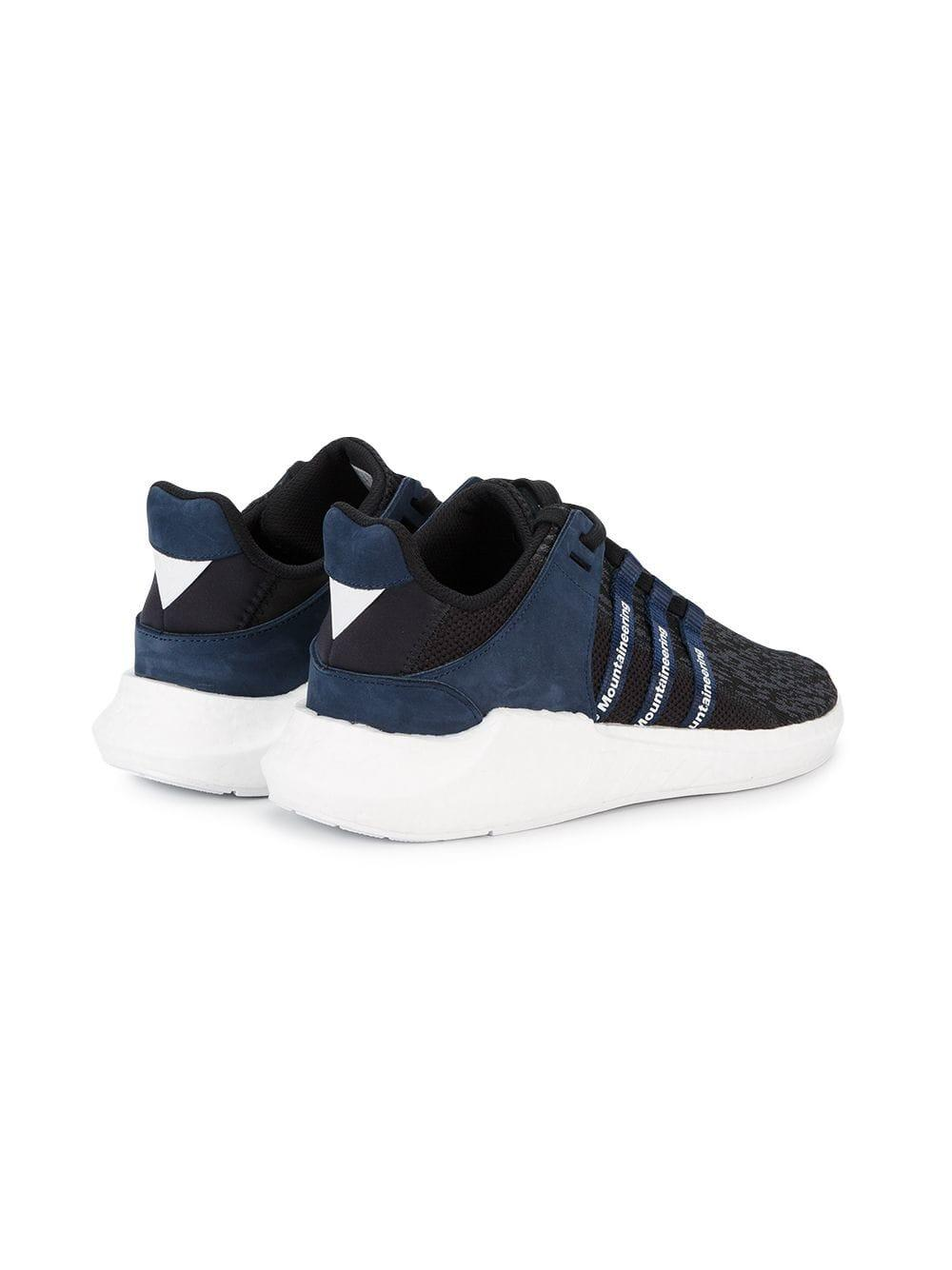 Zapatillas EQT Support Future Boost adidas de Ante de color Azul para hombre