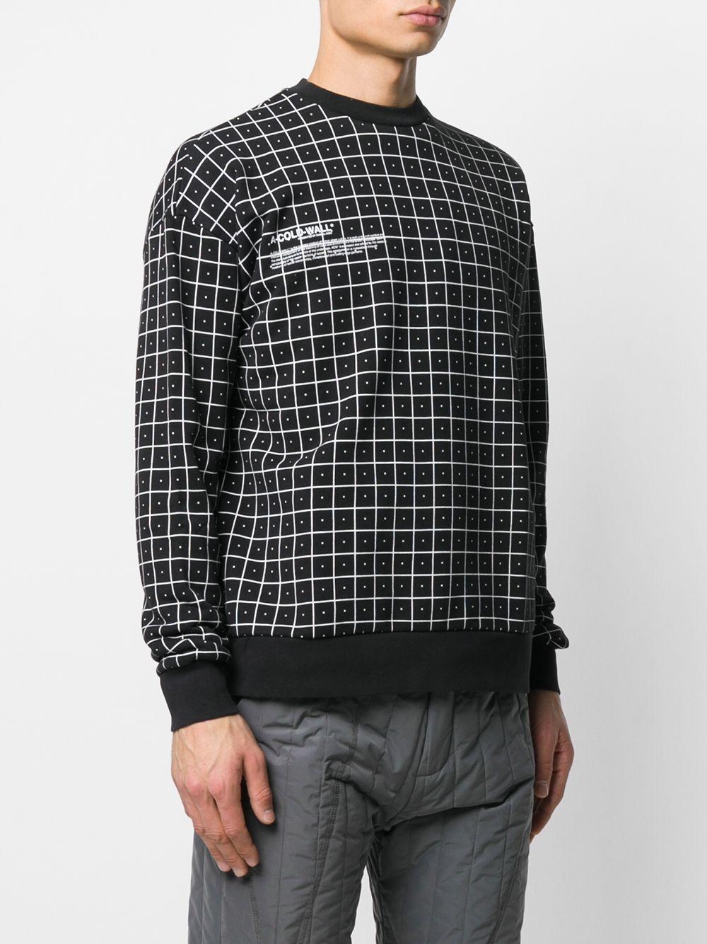 A_COLD_WALL* Katoen Sweater Met Detail in het Zwart voor heren