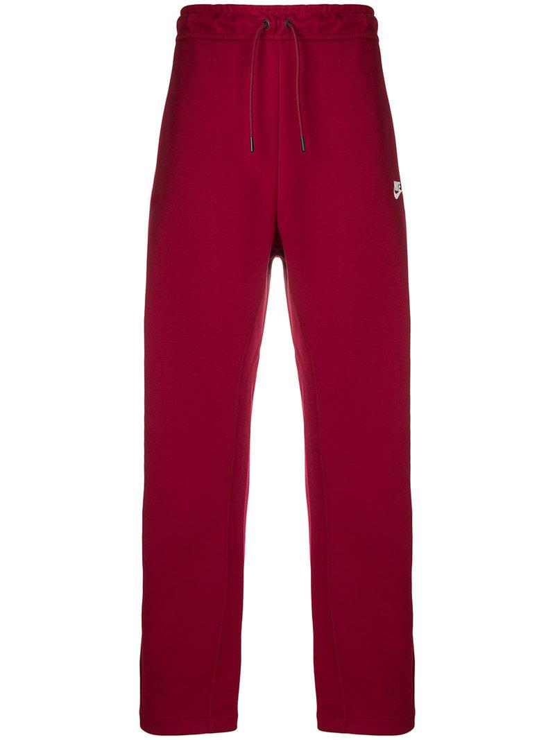 580ed710bf71 Nike Track Pants in Red for Men - Lyst