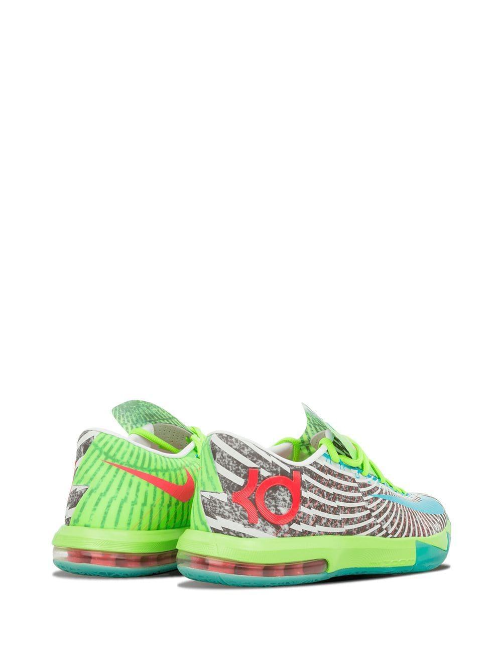 Zapatillas KD VI Supreme Nike de Caucho de color Verde para hombre