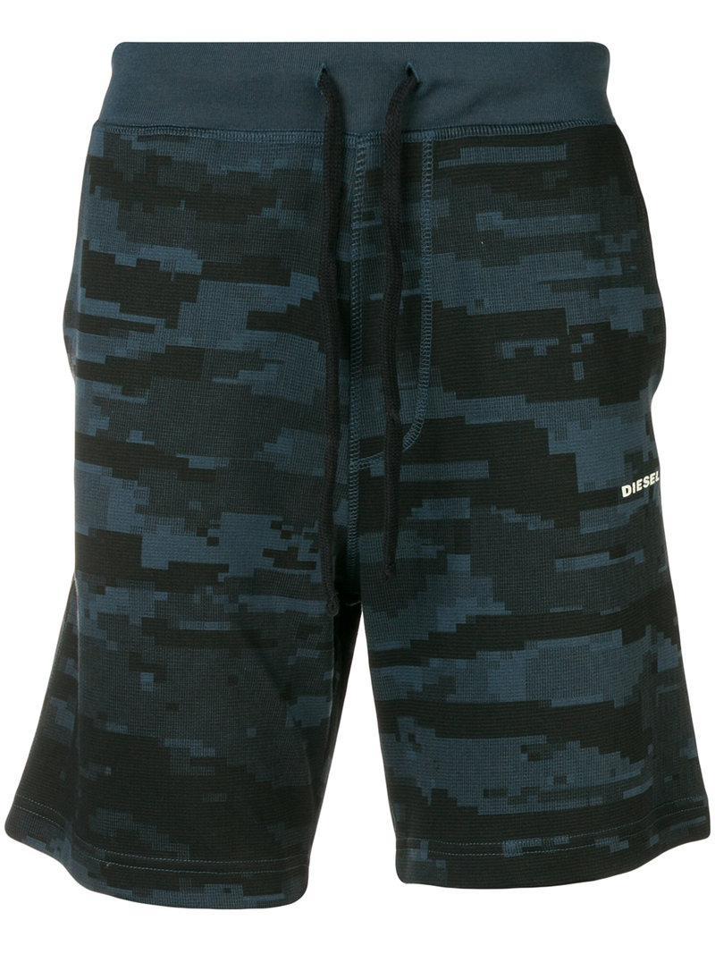 camouflage print bermuda shorts - Blue Diesel z3wNXoX5V