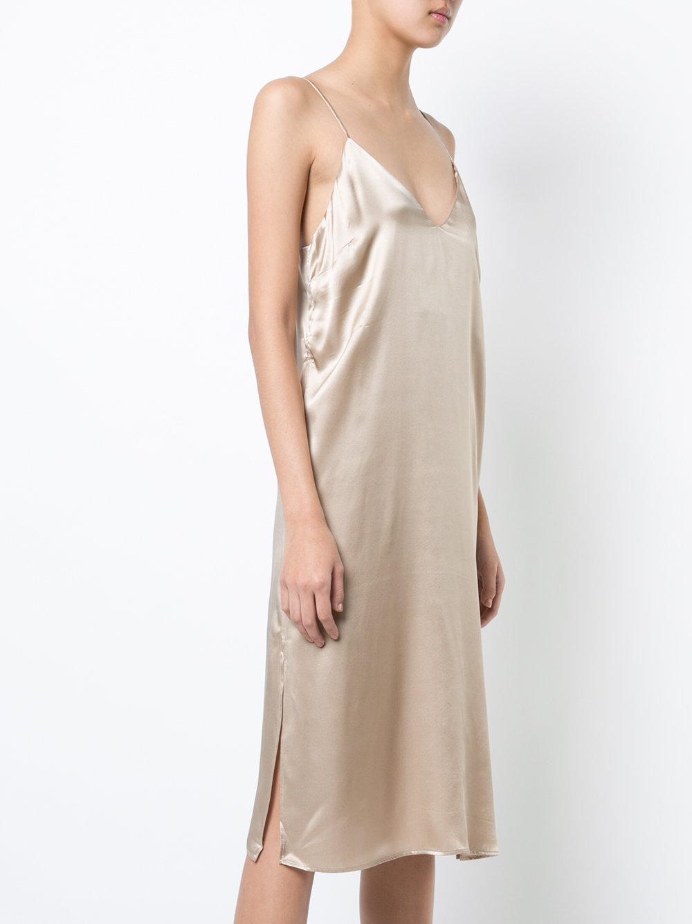 59d24766d6ae Anine Bing Gemma Dress in Natural - Lyst
