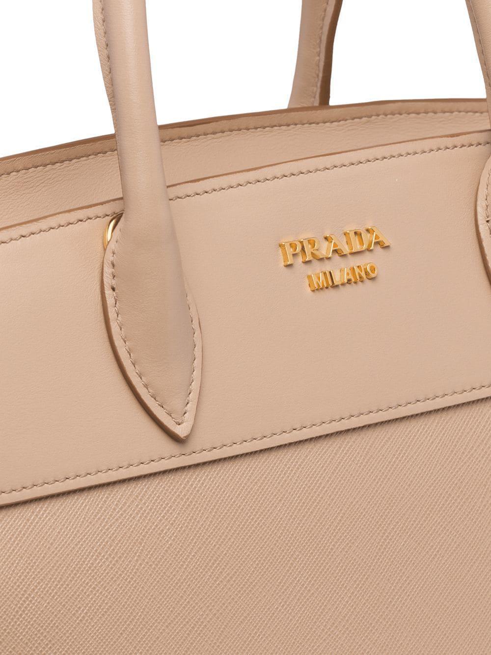ddac7f6fe21f ... new zealand prada pink esplanade bag lyst. view fullscreen d3d10 9a903