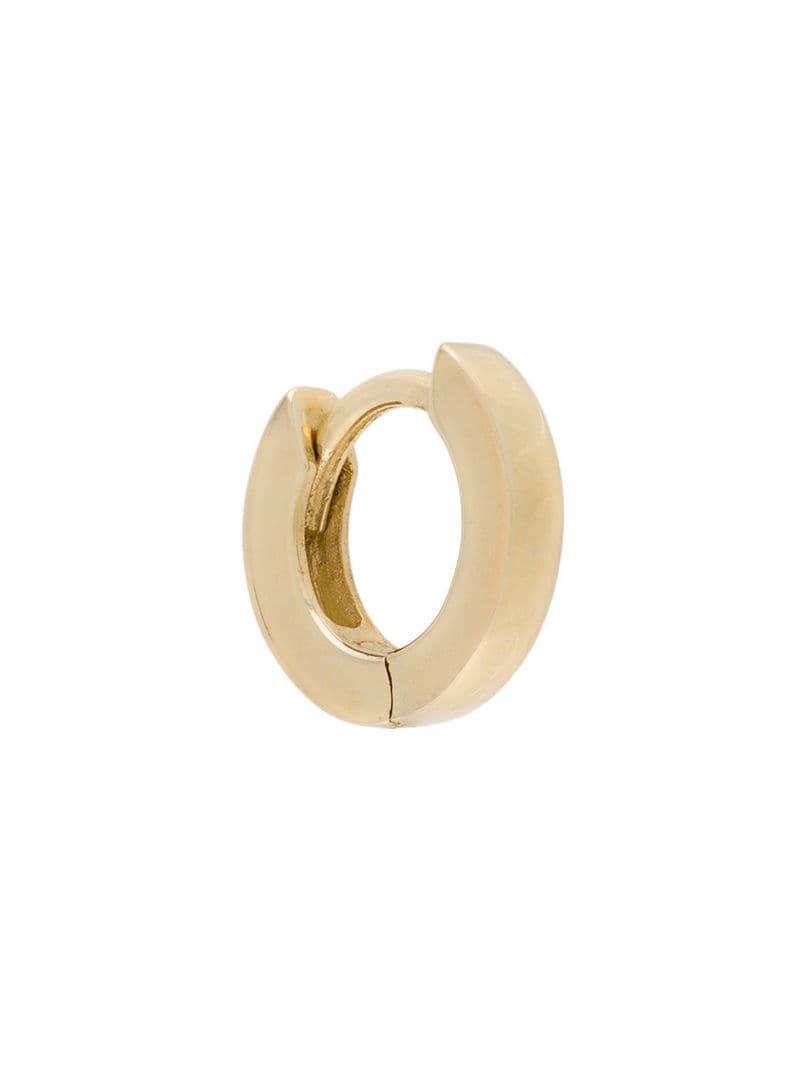 c97c2d250 Otiumberg 9kt Yellow Gold huggie Hoop in Metallic - Lyst