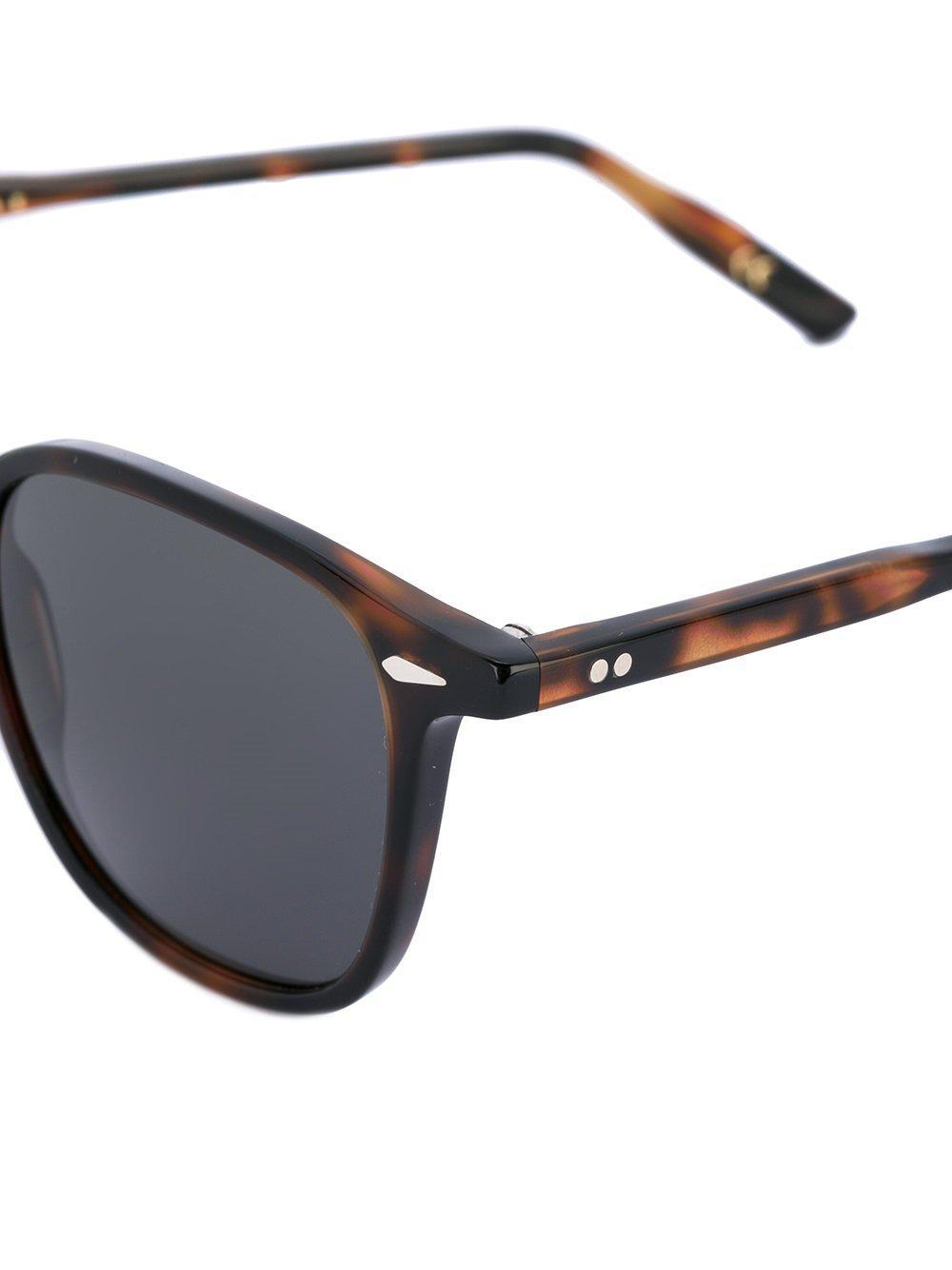 Lesca Zulu Sunglasses in Brown