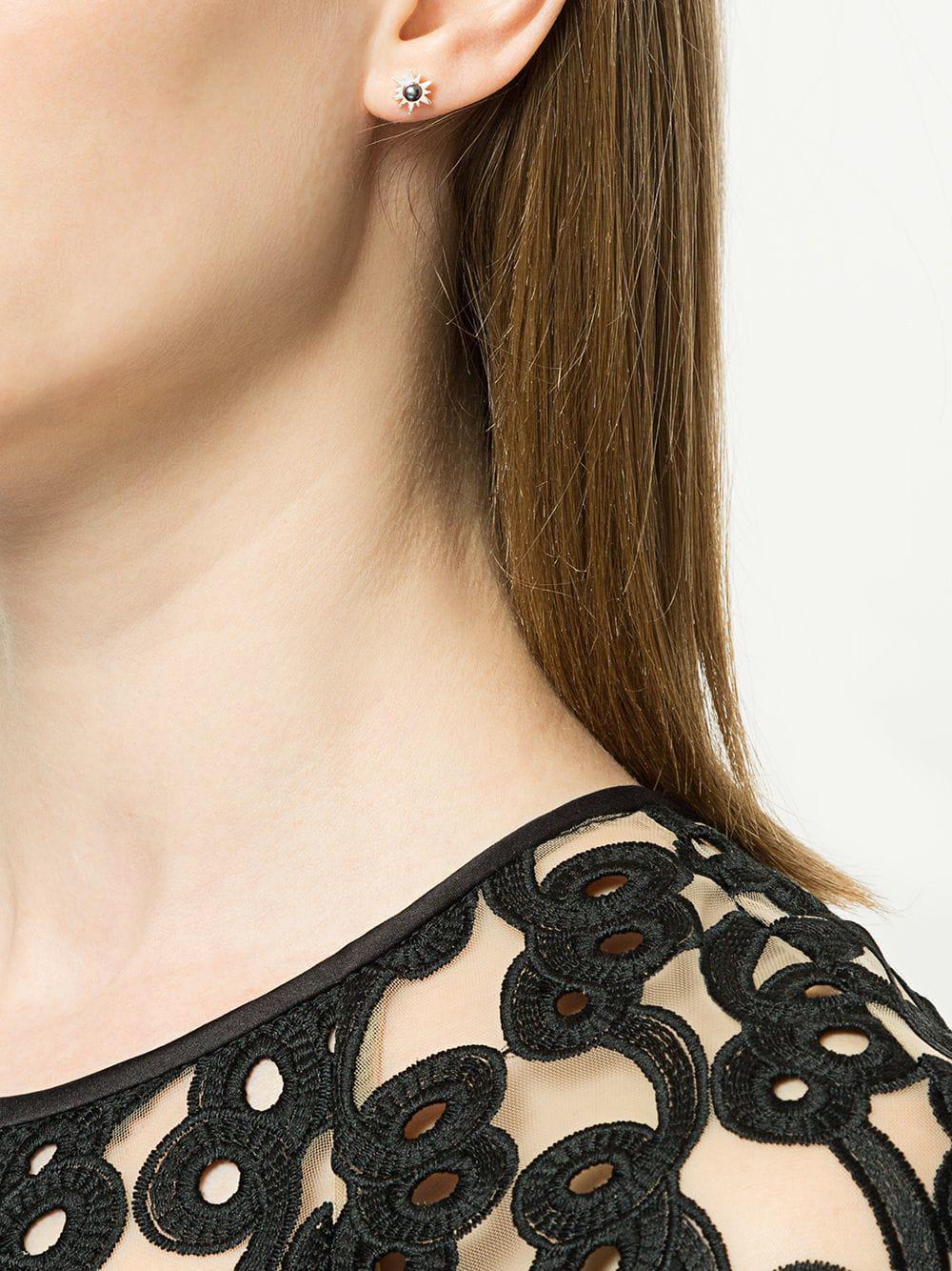 473ec7a36c3e6 Women's Metallic Temptation Stud Earrings
