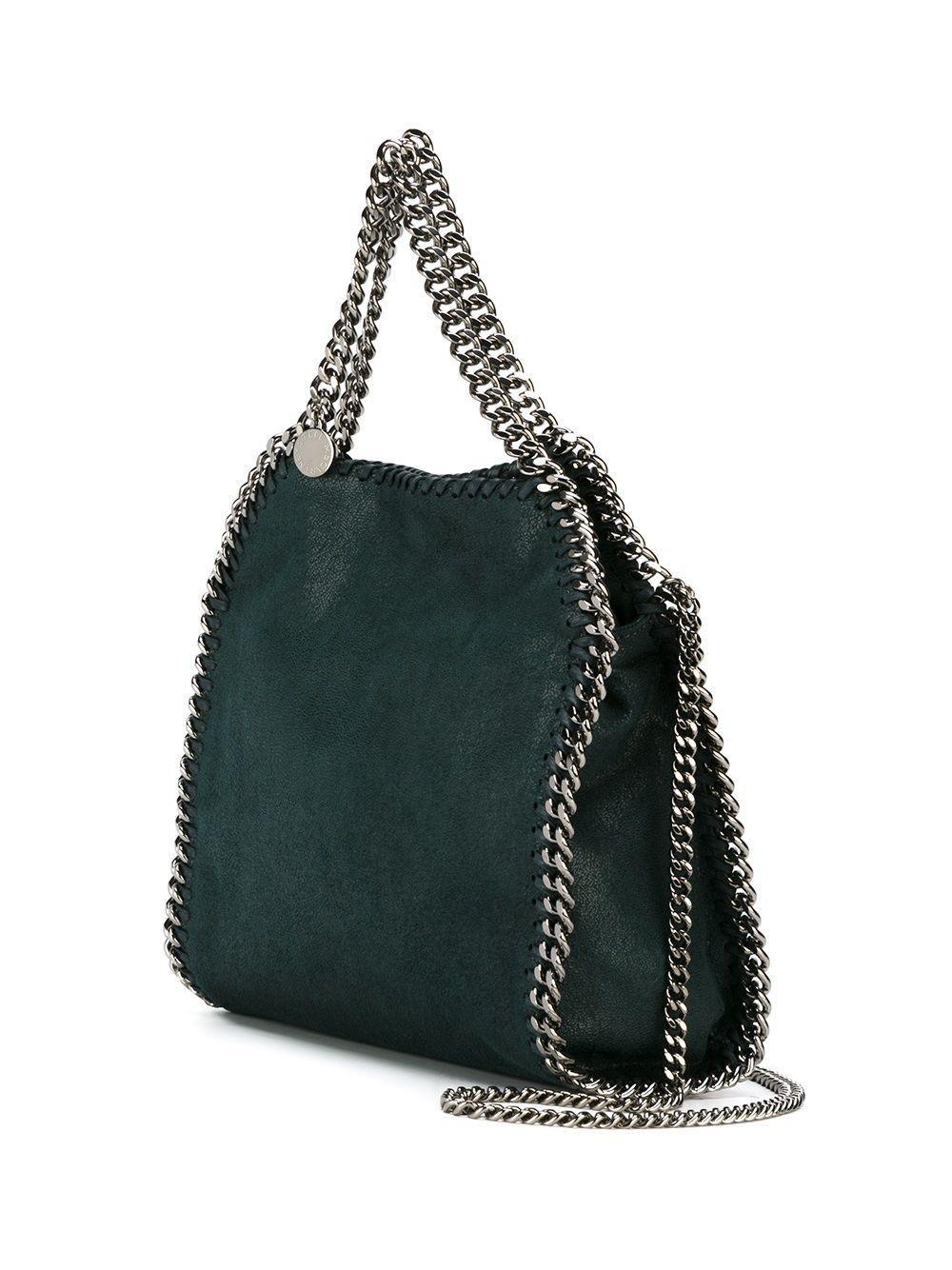 Stella McCartney Leather 'falabella' Tote in Green