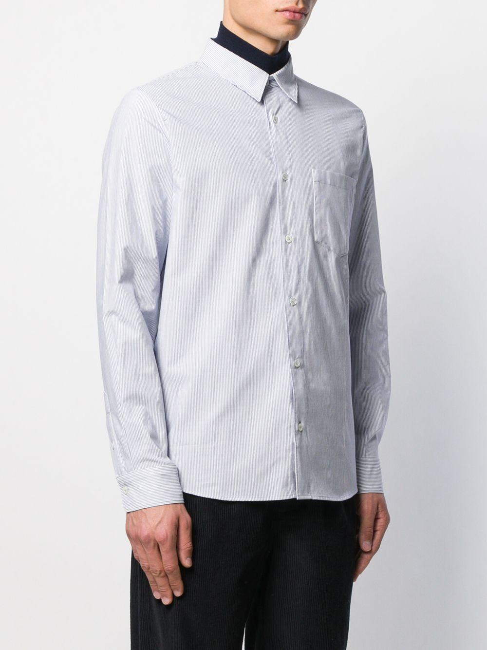 A.P.C. Katoen Overhemd in het Blauw voor heren