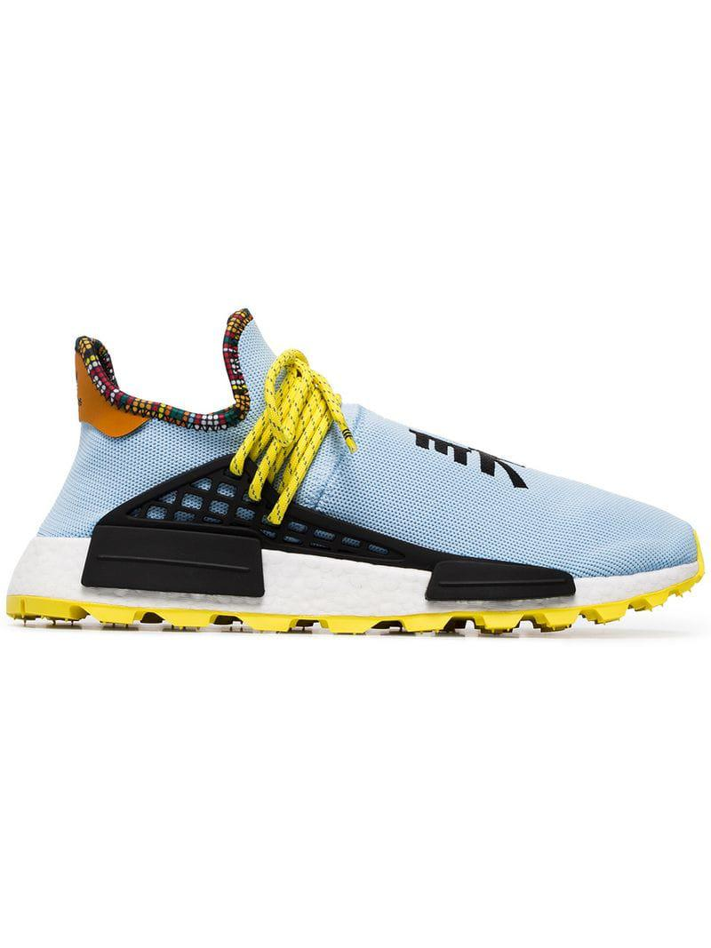 check out 4f062 2a8bb adidas Originals X Pharrell Williams Multicoloured Human Body Nmd ...