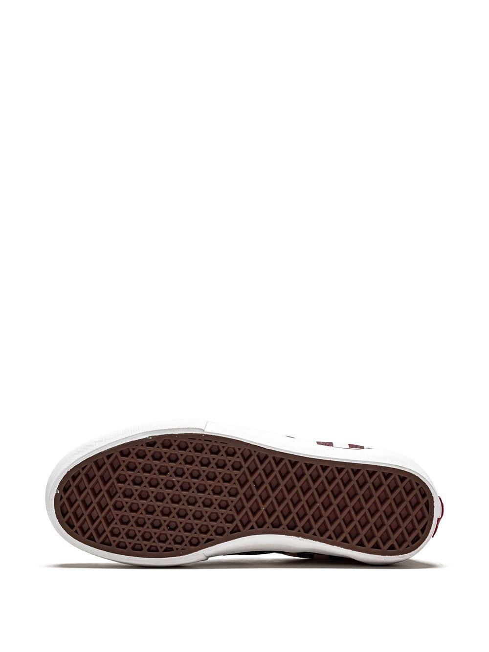 Zapatillas Slip-on Pro Vans de Ante de color Rojo para hombre