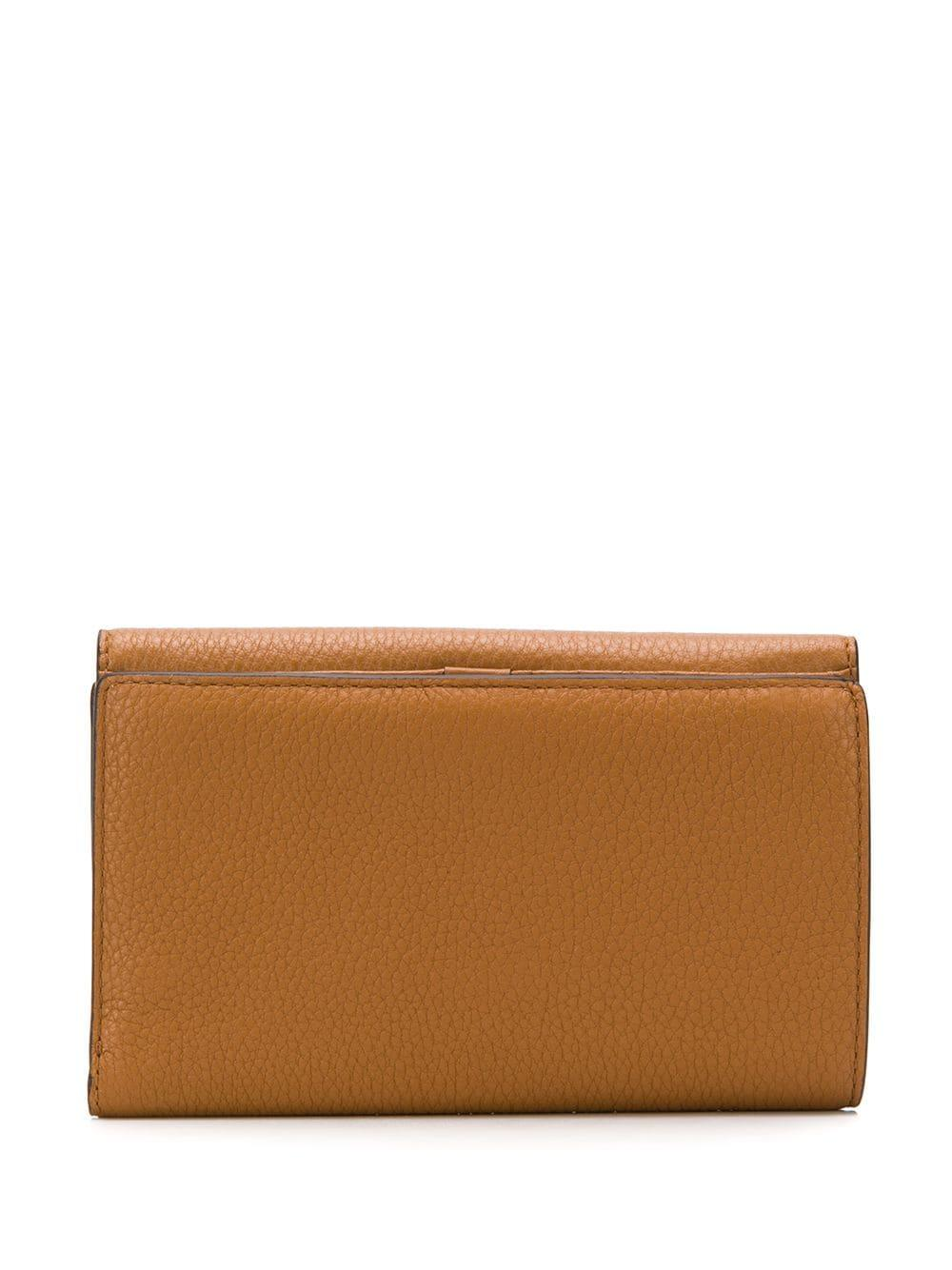 b9fd4e40f137 Lyst - MICHAEL Michael Kors Logo Trifold Wallet in Brown for Men
