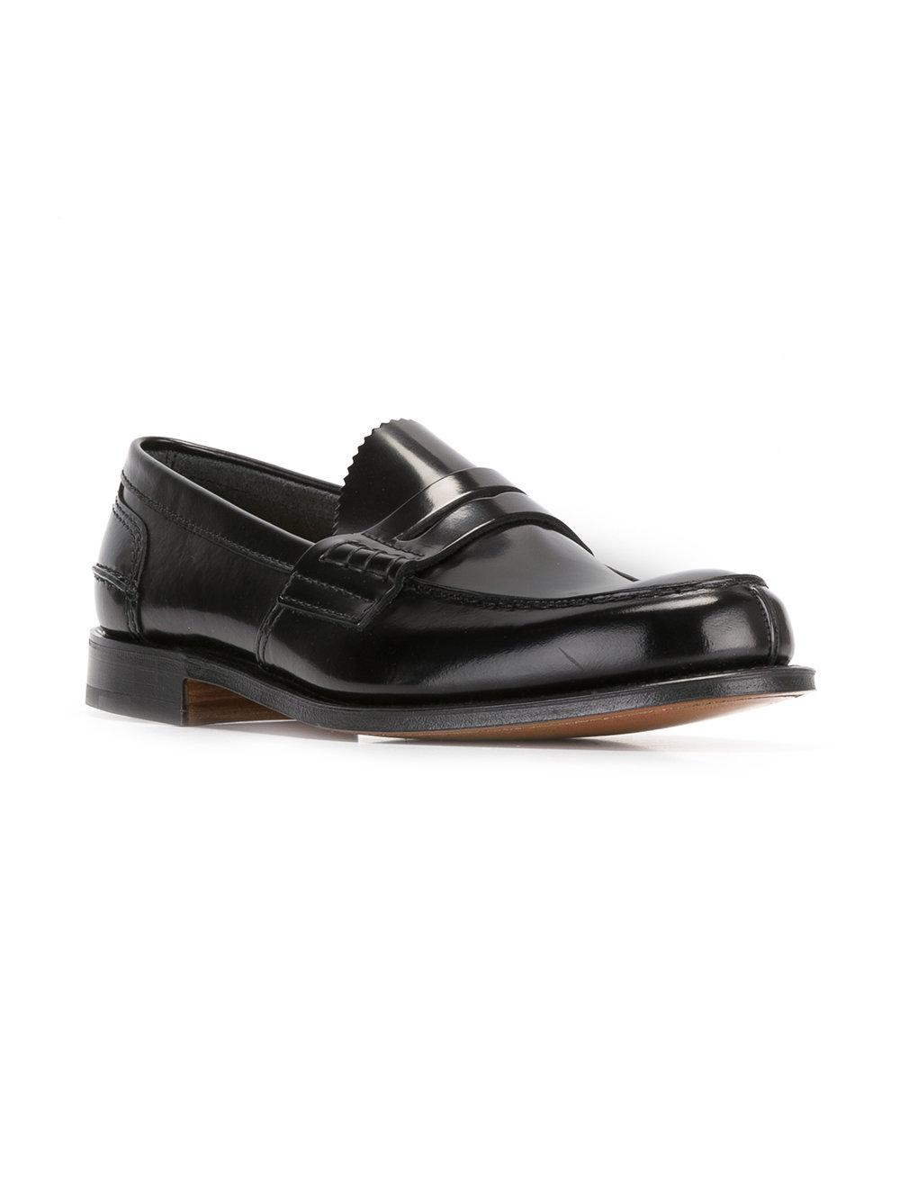 f20be4d8baa Lyst - Church s Tunbridge Leather Loafers in Brown for Men