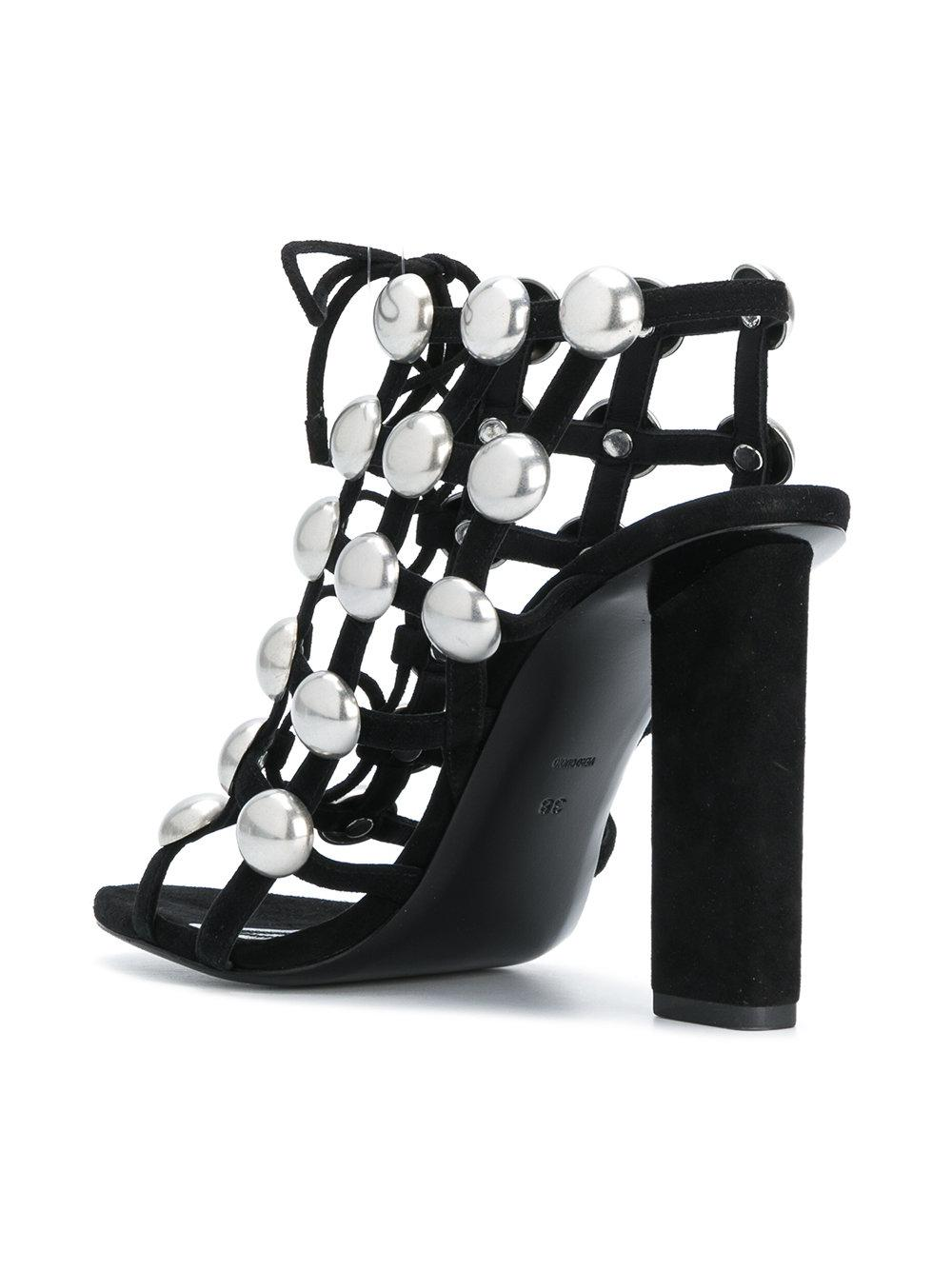 Cheap Sale For Sale Find Great Cheap Price Rubie sandals - Black Alexander Wang Discount Explore Free Shipping Cheapest Shop Sale Online q4Cbg