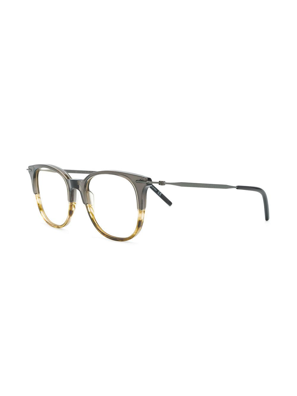 a7187ba61ef Tomas Maier - Green Square Glasses - Lyst. View fullscreen