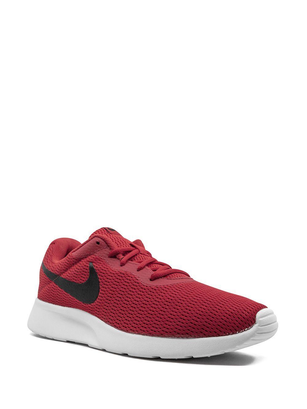 Zapatillas bajas Tanjun Nike de Encaje de color Rojo para hombre