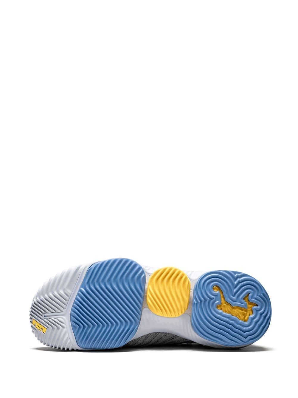 Zapatillas LeBron 16 Nike de Caucho de color Gris para hombre