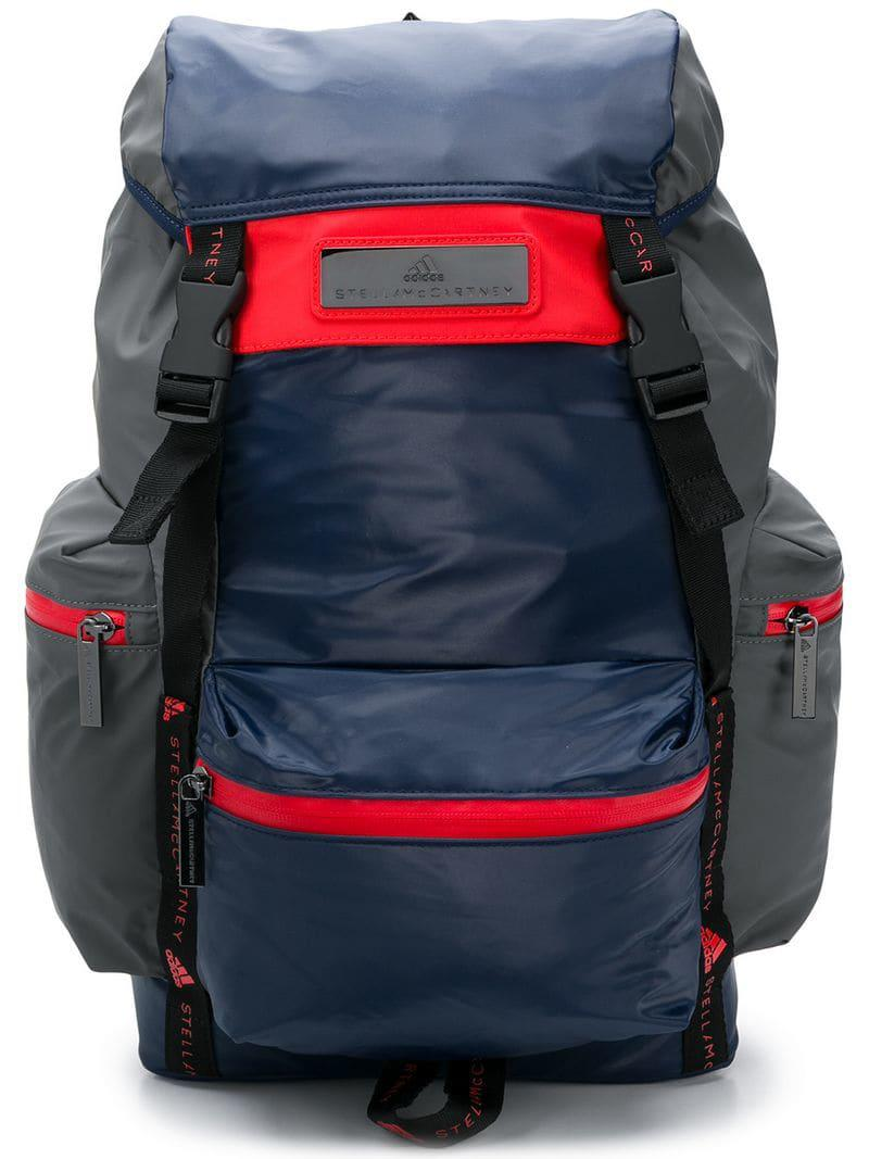 250ed9b761b1 Lyst - Adidas By Stella Mccartney Training Backpack in Blue - Save ...
