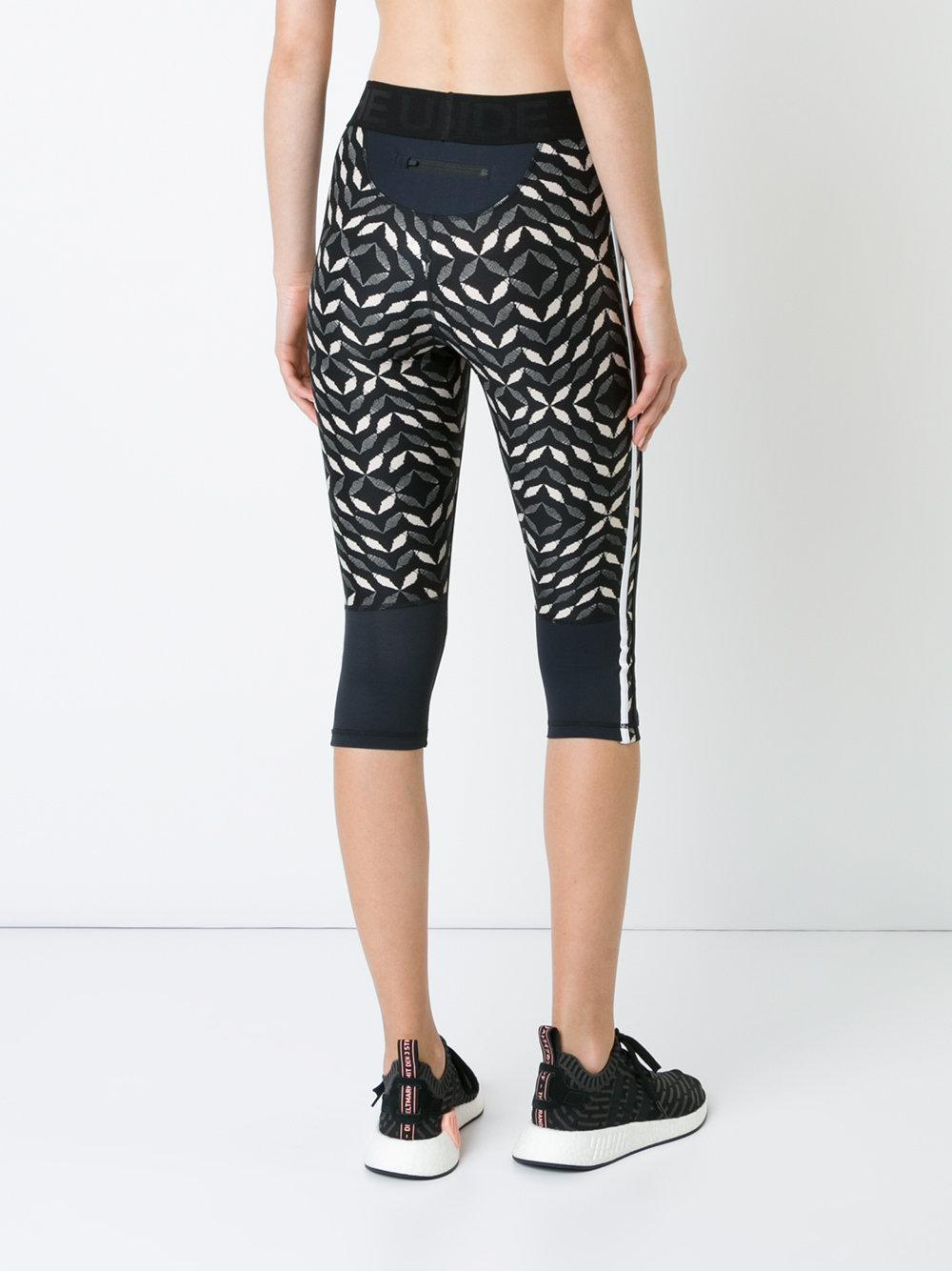 The Upside Synthetic Phoenix Compression Power Leggings in Black