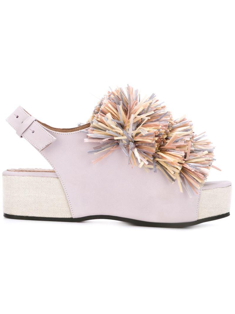 Minimarket 'Plateau' sandals q2TrTGCU