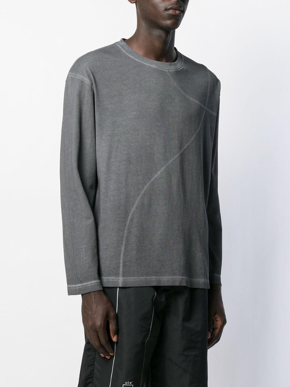 A_COLD_WALL* Katoen Sweater Met Afwerking in het Grijs voor heren