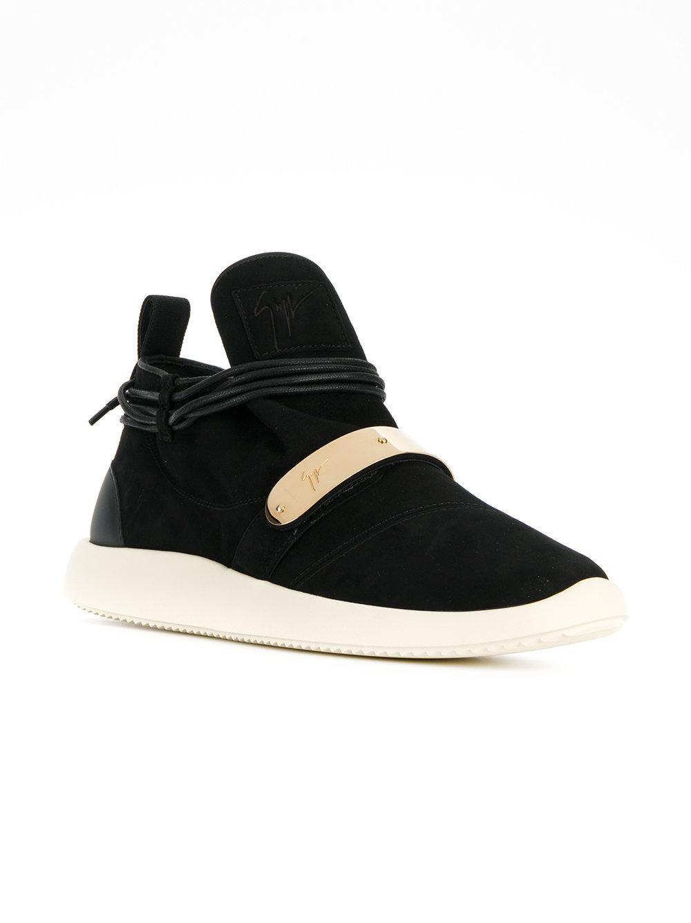 Hayden mid-top sneakers - Black Giuseppe Zanotti hyrfQZp1j