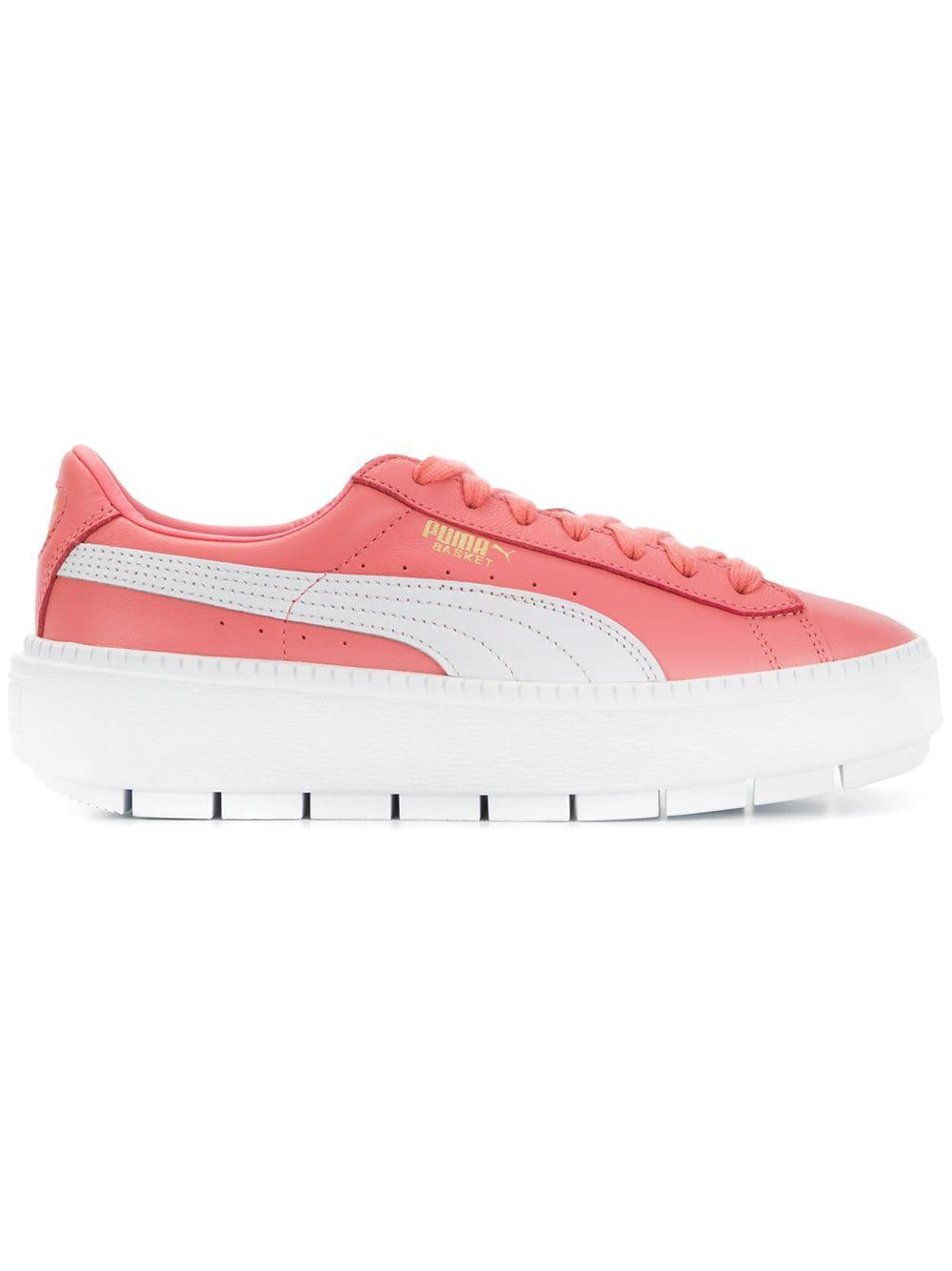 À Puma En Baskets Semelle Pink Plateforme Coloris CdxWrBoe